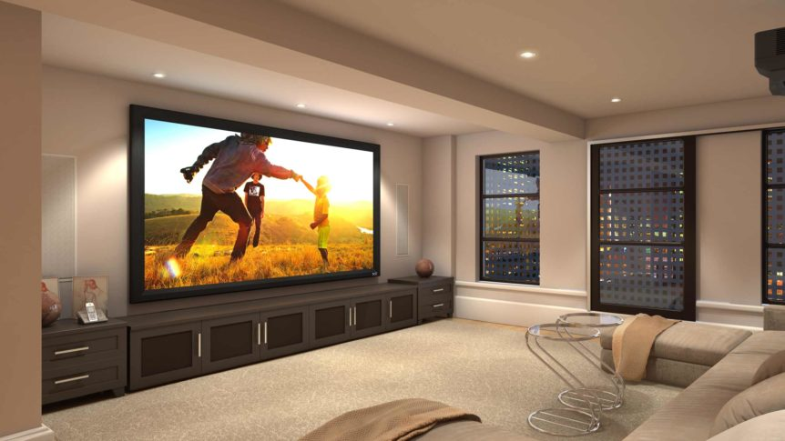 Gladwyne PA/How To Build A Custom Home Theater 1